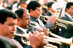 Musicians in the Semana Santa Porcessions,