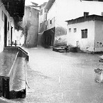 Rain in Zanzibar (Black and white)
