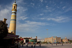 Kashgar, China - September 25, 2009:  Id Kah Mosque is at the center of Kashgar and dates back to 1442. (Photo by: Christopher Herwig)