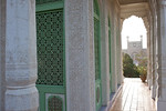 Amanishanan's Mausoleumin in Altyn Mosque complex in Yarkand, Xinjiang, China.