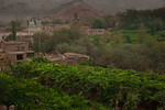 Tuyoq, Xinjiang, China - September 18,2009: The grape producing Uyghur village of Tuyoq nestled in a valley near the Flaming Mountains is an important pilgrimage site for Muslims. (Photo by: ...