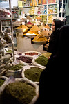 Shiraz, Iran - February, 2008: Inside the colorful bazaar in Shiraz, Iran. (Photo by Christopher Herwig)