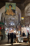 Esfahan, Iran - February, 2008: Bazar-e Bozorg (Great Bazaar) is a massive covered bazaar off of Imam Square in Esfahan, Iran parts of which datie back almots 1300 years. (Photo by Christoph ...